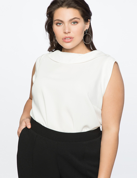 Cowl Neck Blouse by Eloquii