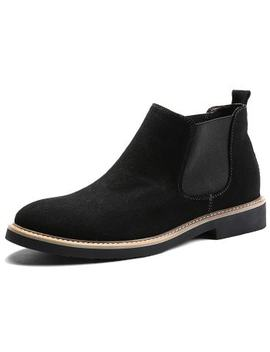 "<P>Men Leisure Stylish Slip On Casual Boots</P><I Class=""Icon Down Js Tap Up Down""></I> by Dress Lily"