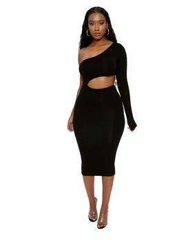 The Nw Got U Sideways Dress by Naked Wardrobe