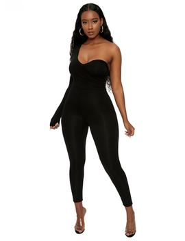 The Nw Lookin' Sidetracked Jumpsuit by Naked Wardrobe