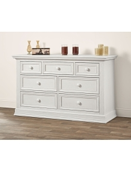 Oxford Baby Danbury 7 Drawer Dresser   Vintage White by Toys Rus