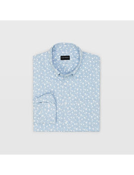 Slim Floral Flannel Shirt by Club Monaco