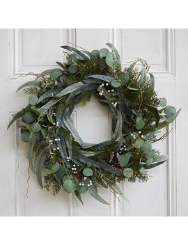Faux Eucalyptus Wreath by Terrain