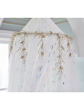 Monique Lhuillier Floral Beaded Garland by Pottery Barn Kids
