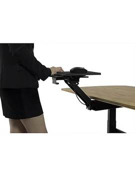Uncaged Ergonomics Kt2 Ergonomic Sit Or Stand Under Desk Keyboard Tray, Fully Adjustable by Staples