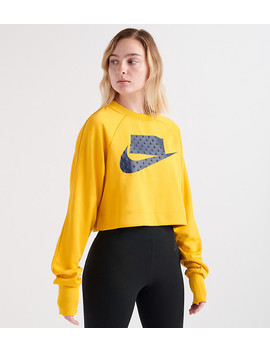 Crop Crew Sweatshirt by Nike