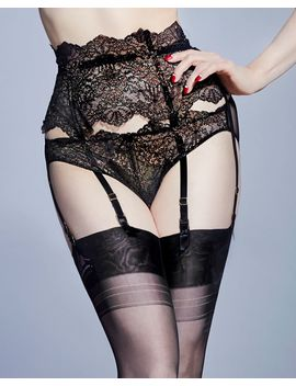 Lurex Lace Suspender by Dita Von Teese Journelle Studio Pia Cosabella Livy Only Hearts