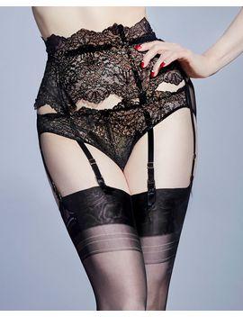 Lurex Lace Suspender by Dita Von Teese Journelle Studio Pia Cosabella Only Hearts Livy
