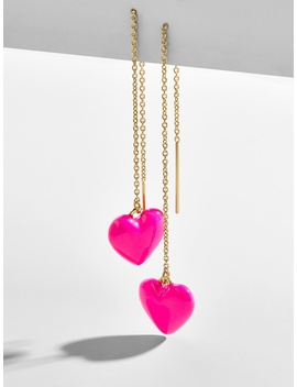 Neina Heart Drop Earrings by Baublebar