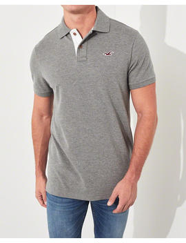 Stretch Muscle Fit Polo by Hollister