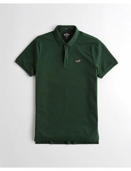 Stretch Slim Fit Polo by Hollister