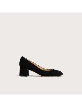 Niamh Black Suede Courts by L.K.Bennett