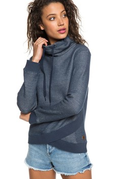 Seasons Change Funnel Neck Sweatshirt by Roxy