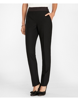 Wool Blend Tuxedo Pants by Brooks Brothers