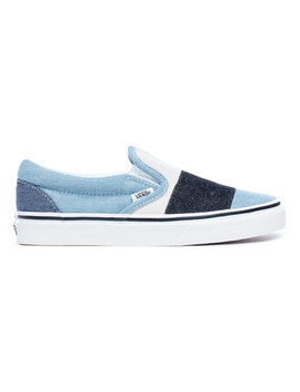 Patchwork Classic Slip On Shoes by Vans