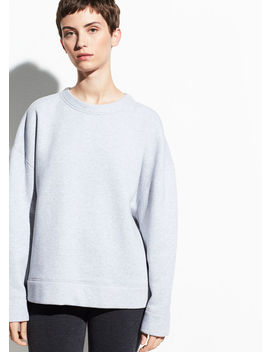Oversized Cotton Pullover by Vince