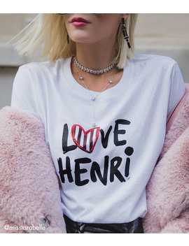 Limited Edition Love Henri T Shirt by Henri Bendel