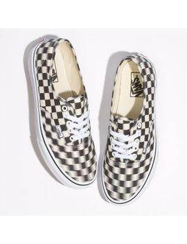 Blur Check Authentic by Vans