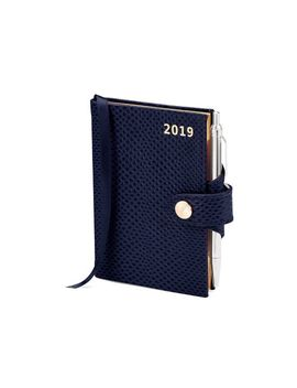 2019 Mini Pocket Diary With Pen by Aspinal Of London