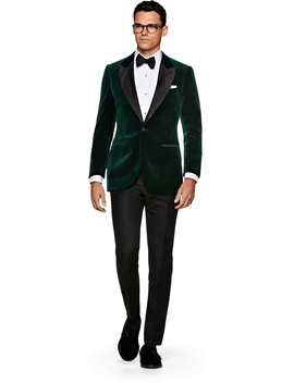 Lazio Green Dinner Jacket by Suitsupply