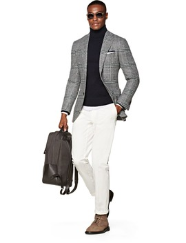 Havana Grey Check Jacket by Suitsupply