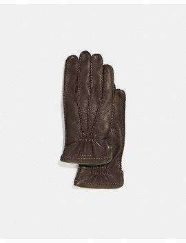 Deerskin Glove by Coach
