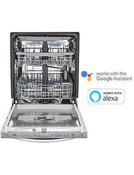 Lg Ldt5678 St  Smart Wi Fi Enabled Top Control Dishwasher W/ Quad Wash™ & 3rd Rack – Stainless Steel Lg Ldt5678 St  Smart Wi Fi Enabled Top Control Dishwasher W/ Quad Wash™ & 3rd Rack – Stainless Steel by Sears