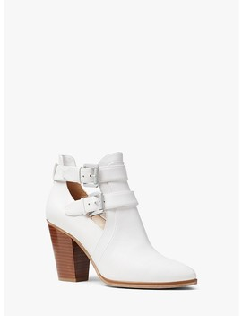 Walden Leather Bootie by Michael Michael Kors