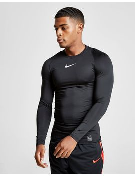 Nike Pro Long Sleeve Compression T Shirt by Nike