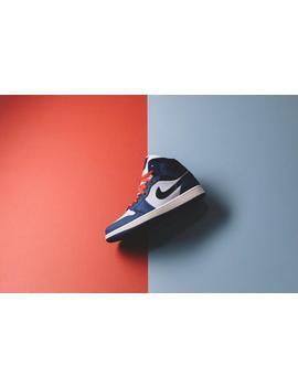 Air Jordan 1 Mid Se   Deep Royal Blue/Black by Politics