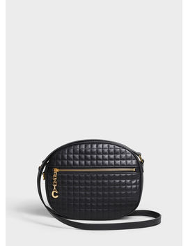 Medium C Charm Bag In Quilted Calfskin by Celine