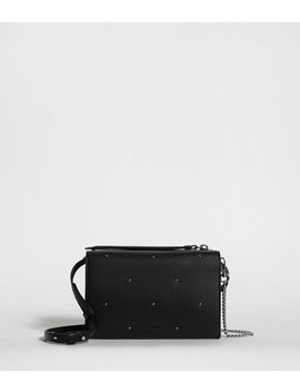Kathi Leather Chain Wallet Crossbody Bag by Allsaints