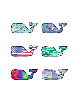 Whale Sticker Pack by Vineyard Vines