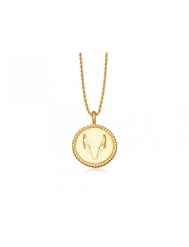 Body Language V Initial Necklace By Fee Greening by Missoma