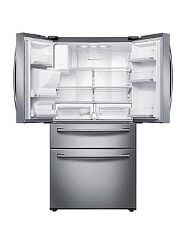 Samsung Rf28 Hmedbsr/Aa 28 Cu. Ft. 4 Door French Door Refrigerator   Stainless Steel Samsung Rf28 Hmedbsr/Aa 28 Cu. Ft. 4 Door French Door Refrigerator   Stainless Steel by Sears