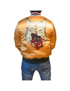 Wolf Season Flight Jacket by Dirty Razkal