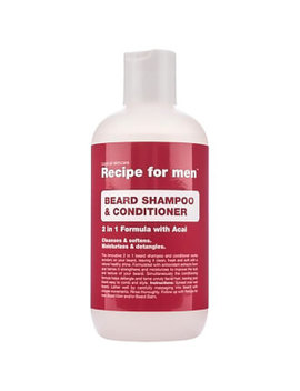 Recipe For Men Beard Shampoo And Conditioner 250ml by Recipe For Men