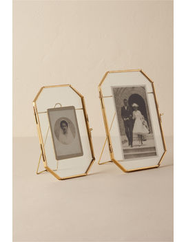 Brass Octagon Frame by Bhldn