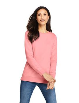Women's Long Sleeve Sweatshirt Tunic by Lands' End