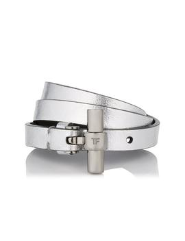 Metallic Triple Wrap T Bracelet by Tom Ford