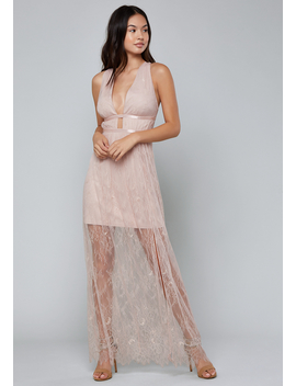 Flowy Lace Maxi Dress by Bebe