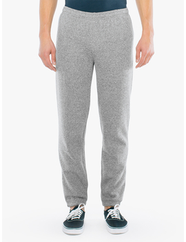 Peppered Fleece Boyfriend Sweatpant by American Apparel