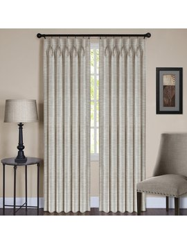 Achim Importing Co Parker Solid Sheer Pinch Pleat Single Curtain Panel & Reviews .Ca by Achim Importing Co