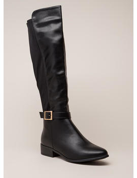 The Ultimate Ankle Strap Riding Boots by Go Jane