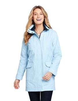 Women's Tall Lightweight Squall Raincoat by Lands' End