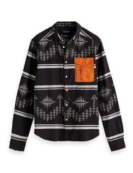Alpine Shirt <Br> Regular Fit by Scotch&Soda