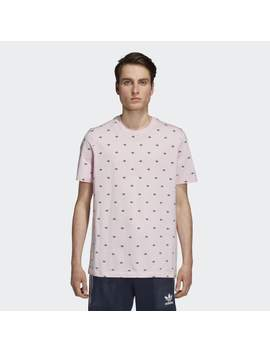 Allover Print Trefoil Tee by Adidas