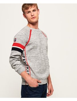 Sd Gym Crew Neck Jumper by Superdry