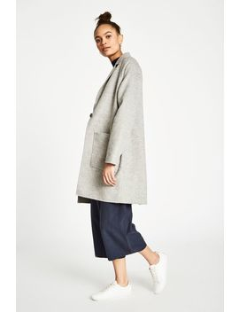 Locke Hand Finshed Wool Coat by Jack Wills