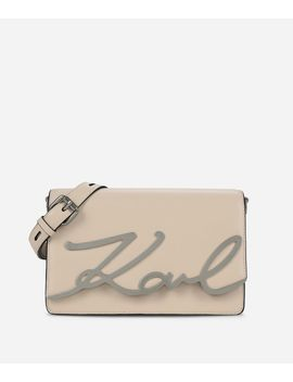 K/Signature Shoulder Bag by Karl Legerfeld